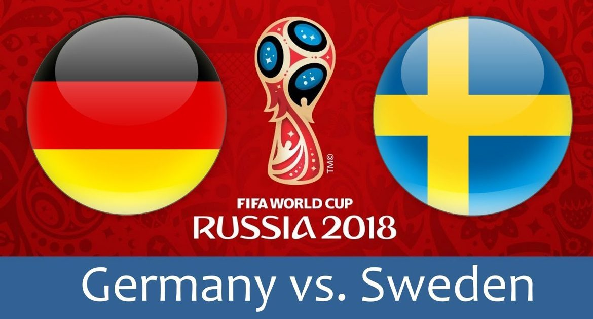 Germany - Sweden 23 jun 2018