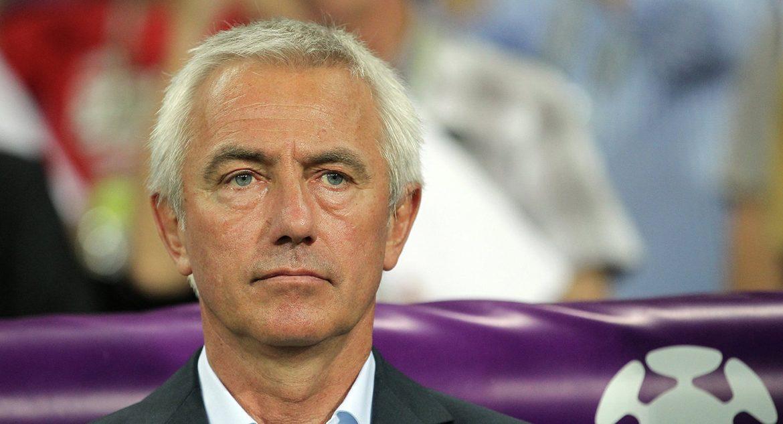 Head coach Bert van Marwijk