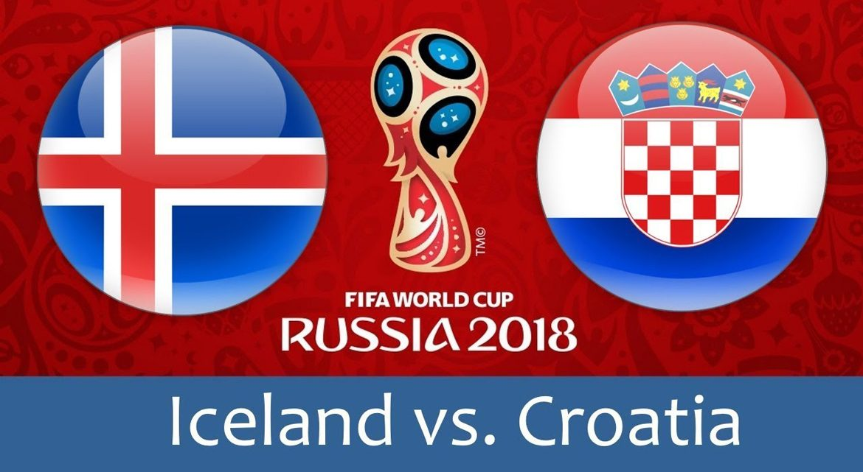 Iceland - Croatia 26 jun 2018