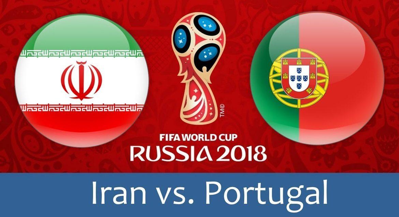 IR Iran - Portugal 25 jun 2018