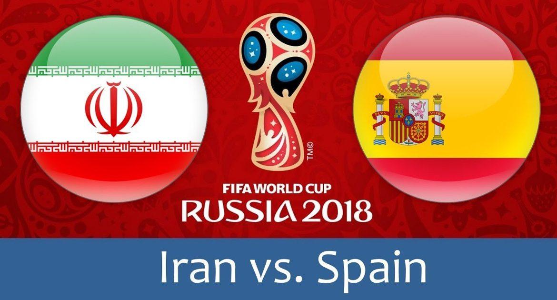IR Iran - Spain 20 jun 2018