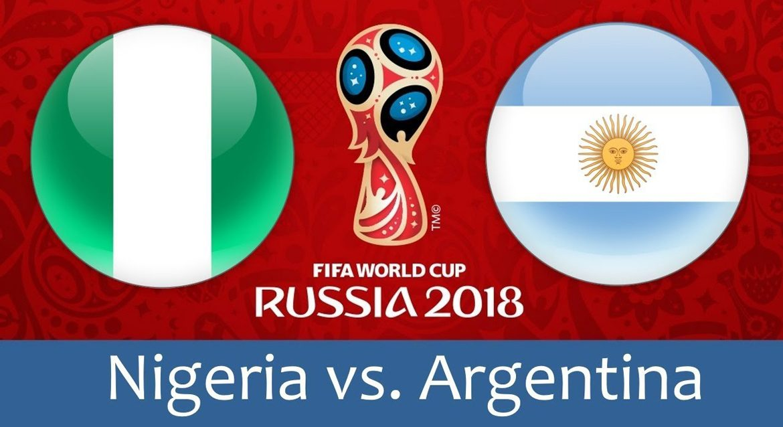 Nigeria - Argentina 26 jun 2018