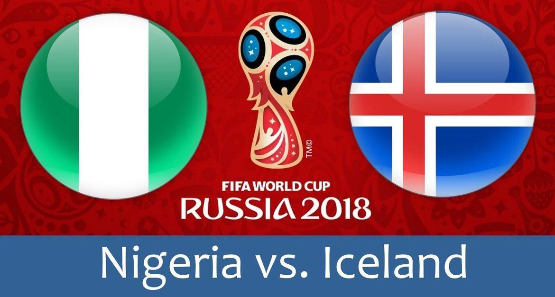 Nigeria - Iceland 22 jun 2018