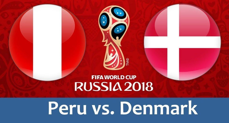 Peru - Denmark 16 jun 2018