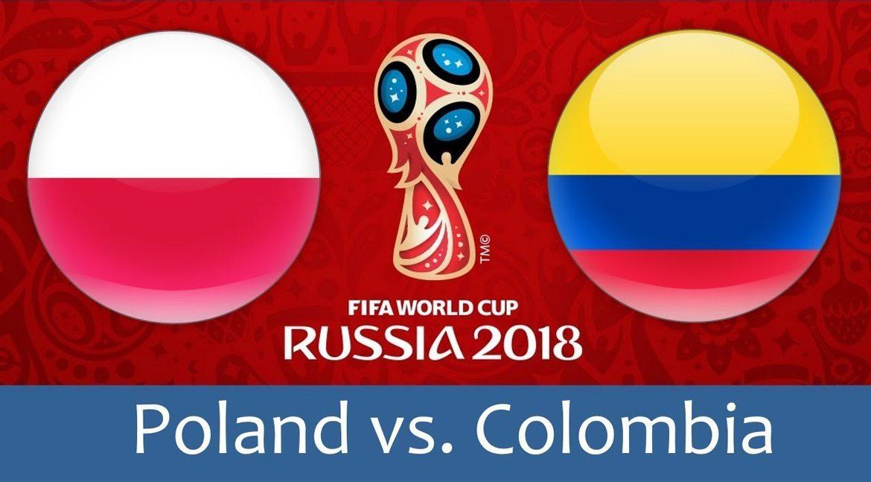Poland - Colombia 24 jun 2018