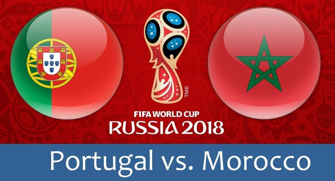 Portugal - Morocco 20 jun 2018