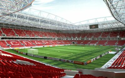The stadium Spartak