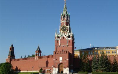 The Spasskaya Tower of the Moscow Kremlin