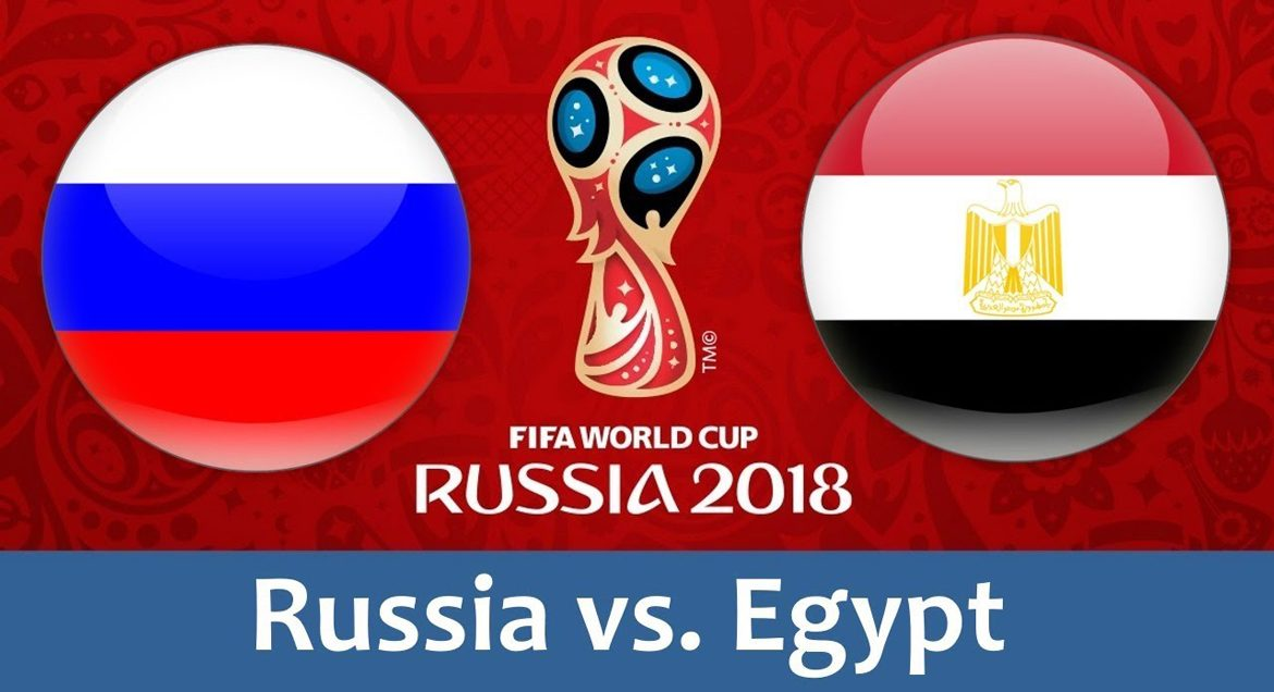 Russia - Egypt 19 jun 2018