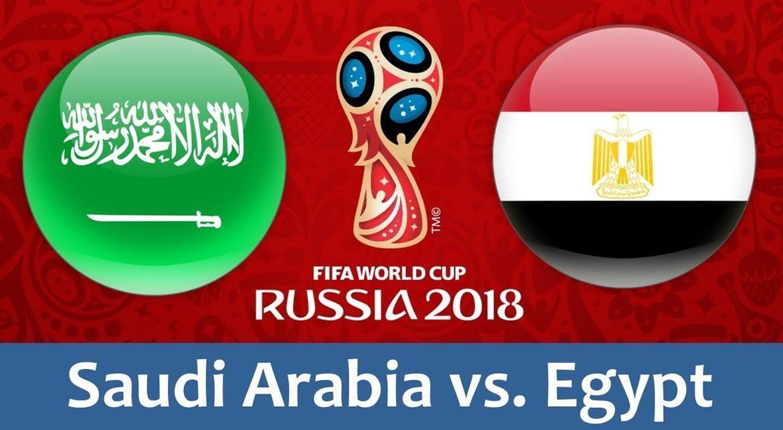 Saudi Arabia - Egypt 25 jun 2018