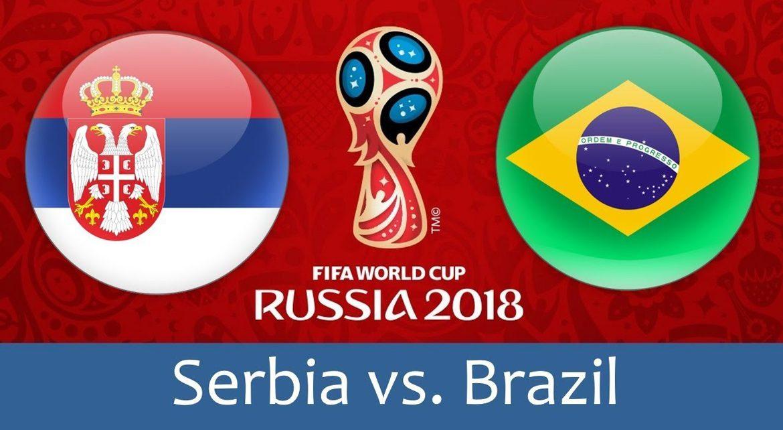 Serbia - Brazil 27 jun 2018