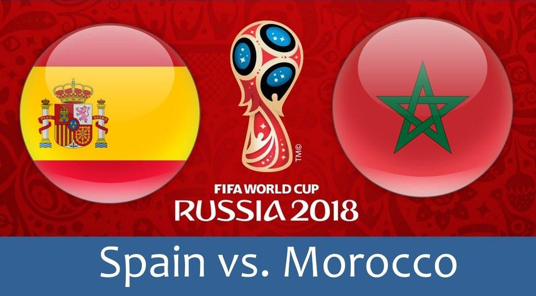 Spain - Morocco 25 jun 2018