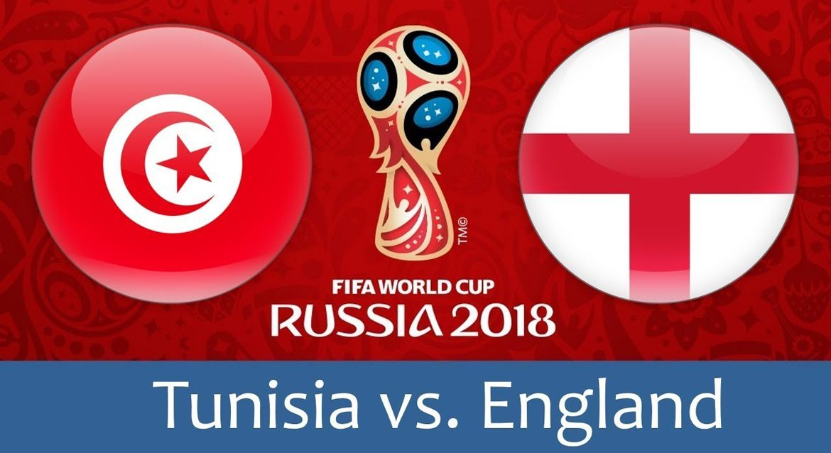 Tunisia - England 18 jun 2018